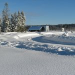 Norton North Ranch Cottages beautiful winter world