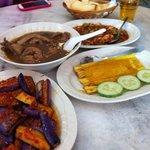 Branji, Chicken, Otah & Patie with Squid
