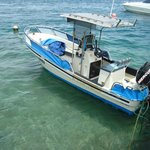 CQ's dive and fishing boat!