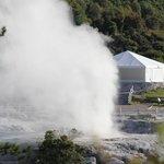 the geyser next door