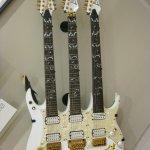 Steve Vai's triple neck guitar