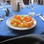 fruits frais juteux