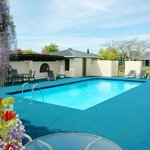 Solar heated outdoor pool (seasonal)