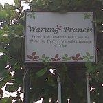 Warung Perancis Signboard