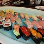 sushi...yummy