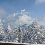 Le Mont Blanc depuis la salle