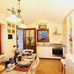 Cucina della casa delle Fate