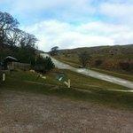 The ski slope
