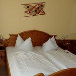 Schlafstätte im Zimmer