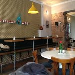 Factory Girl interior- is more than just random vintage- its really a neat and genuin little tre