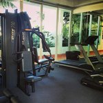 Resort gym - air conditioned and TV also