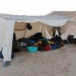 diver gear tent