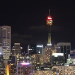 Sydney Tower by night