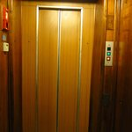 Lift inside building
