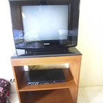 TV with a DVD player