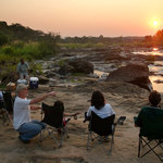 Sundowners on the Bua River