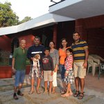 A Family Picture after the Homestay (Dilip on left)