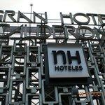 Logo hotel in terrazza