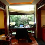 Study cum tv room in pool villa
