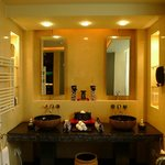 His & Hers bathroom in pool villa