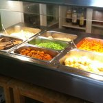 Carvery - vegetables selection