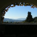 Tuscany from the  reception area.