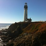 Pigeon Point Lighthouse in the morning