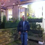 Carl in front of the Huddersfield Central Lodge