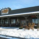 The Davenport Cracker Barrel looks like all the others.