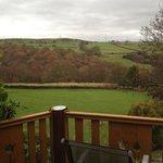 View from Tamarisk front door
