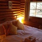Bedroom, v small but lovely!