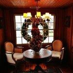 A cozy Christmas nook