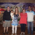 Owners of Sugar, Nikki,Amen and their beautiful daughter Analise with us.