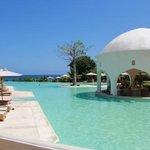 pool with breathtaking ocean views