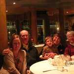 Family Dinner at Paisano's on Broadway