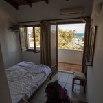 our bedroom and balcony