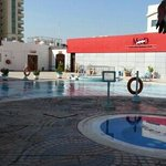 pool area with few nighclubs ...
