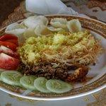 Indonesische oder europäische Gerichte kommen frisch auf den Tisch.