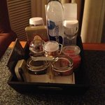 Goodies in the room(that come with a price).