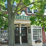 Richards in the Fall in Maine