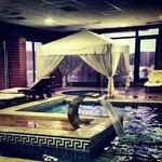 part of indoor pool