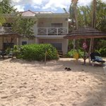 Our room from beach