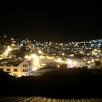 Vista nocturna parte de Quito