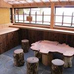 Sitting area - onsen