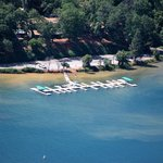 Ariel View of Resort Property