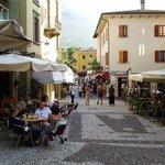 Street outside Hotel Lago di Garda