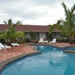 Chambres vues côté piscine