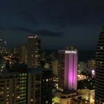 Broadbeach at night