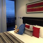 Luxurious King beds with views