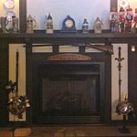 The mantle with LOTS of stories behind it.